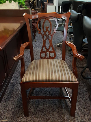 wood traditional bernhardt guest chairs