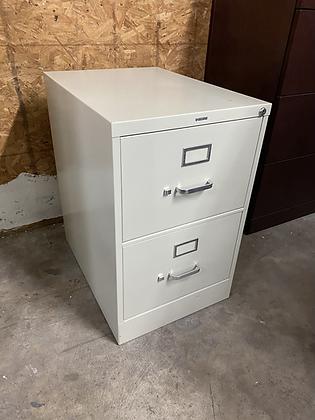 Hon 2 drawer vertical file cabinets