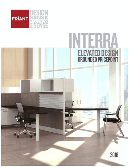 Friant Interra cubicle system