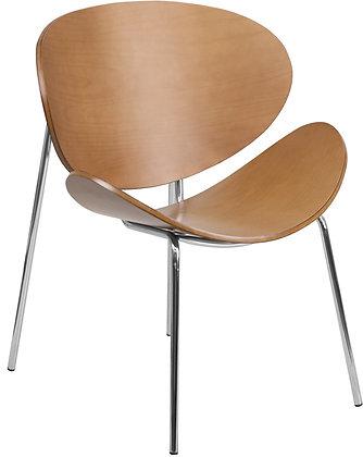beech bentwood mid century modern guest chairs