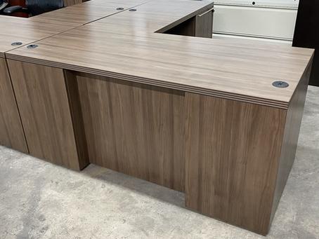 Status executive L shaped desks