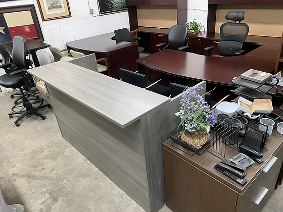 Reception desk shell