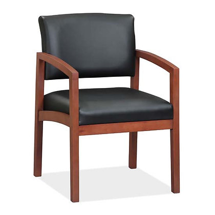 DOVER COLLECTION DESIGNER WOOD FRAME GUEST CHAIRS