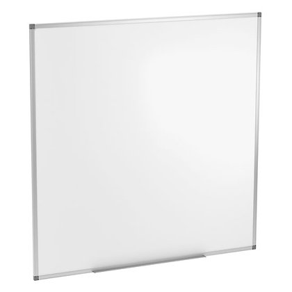 os white boards 4' x 4' magnetic white boards new