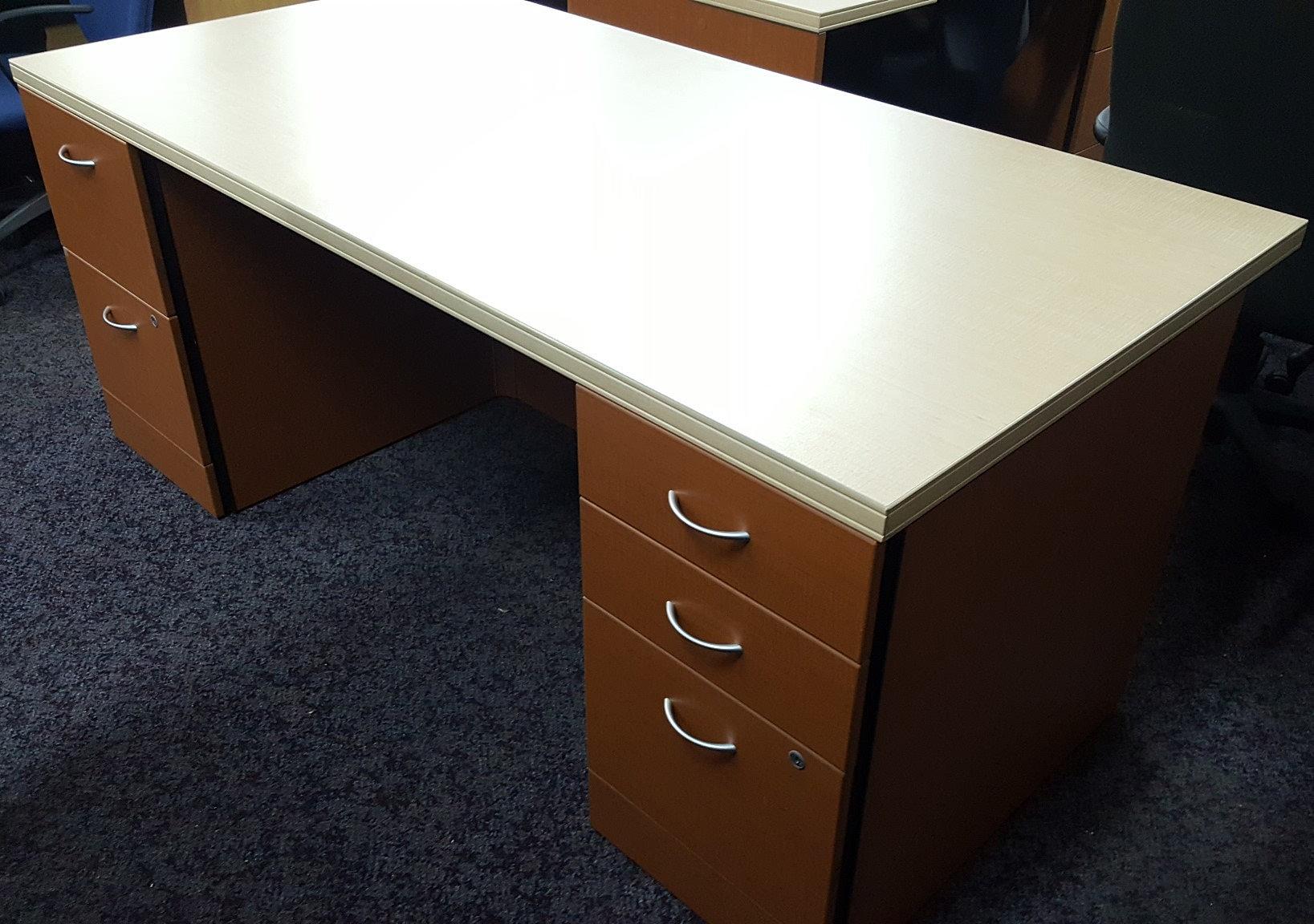 Global Double Pedestal Desks