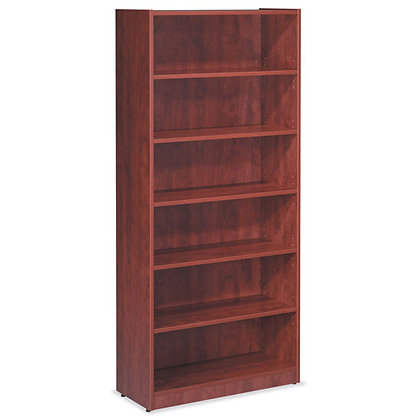 """os laminate collection 71"""" height bookcase"""