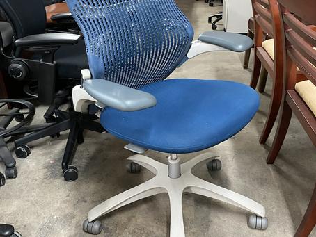 Knoll Generation ergonomic chairs.