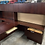 Thumbnail: OFS L shaped desk with hutch