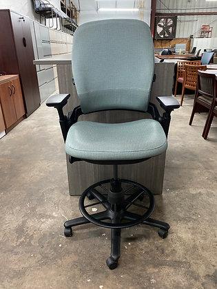 Steelcase leap V2 ergonomic drafting chairs