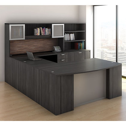 os laminate collection executive U shaped desk typical os22v