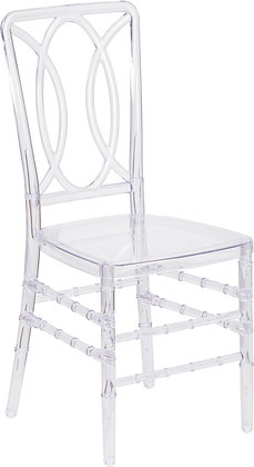 clear stacking chairs
