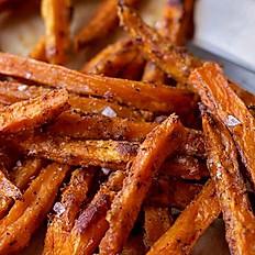 Basket of Sweet Potato Chips