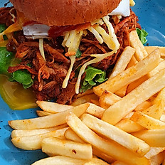 Pulled Pork Deluxe Burger