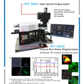 국내 유일의 라만, 초분광 현미경 통합시스템
