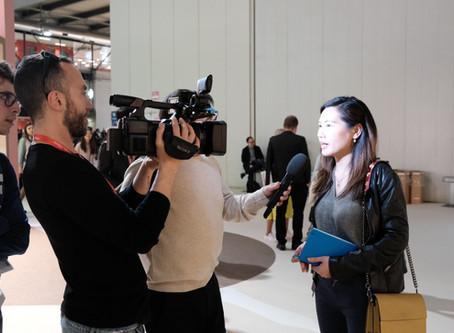 Mirei Monticelli featured at RAI2-TG2