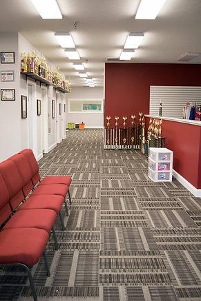 Burns Dance Studio hallway