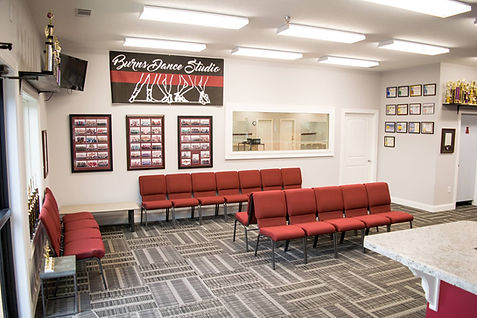 Burns Dance Studio Lobby