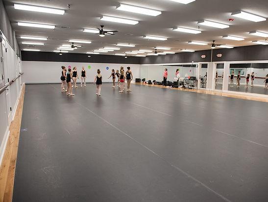 Burns Dance Studio Studios A and B