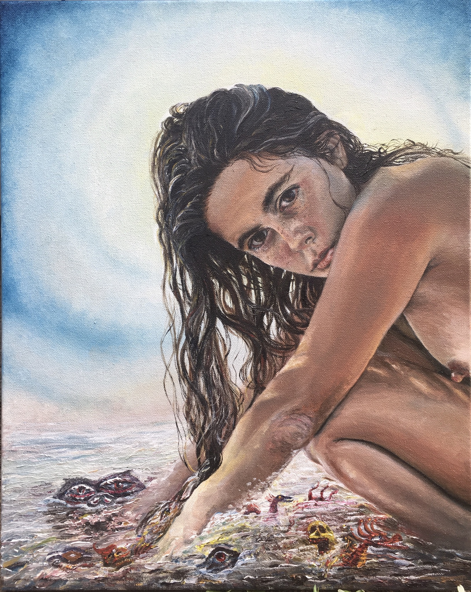 Divine goddess self portrait