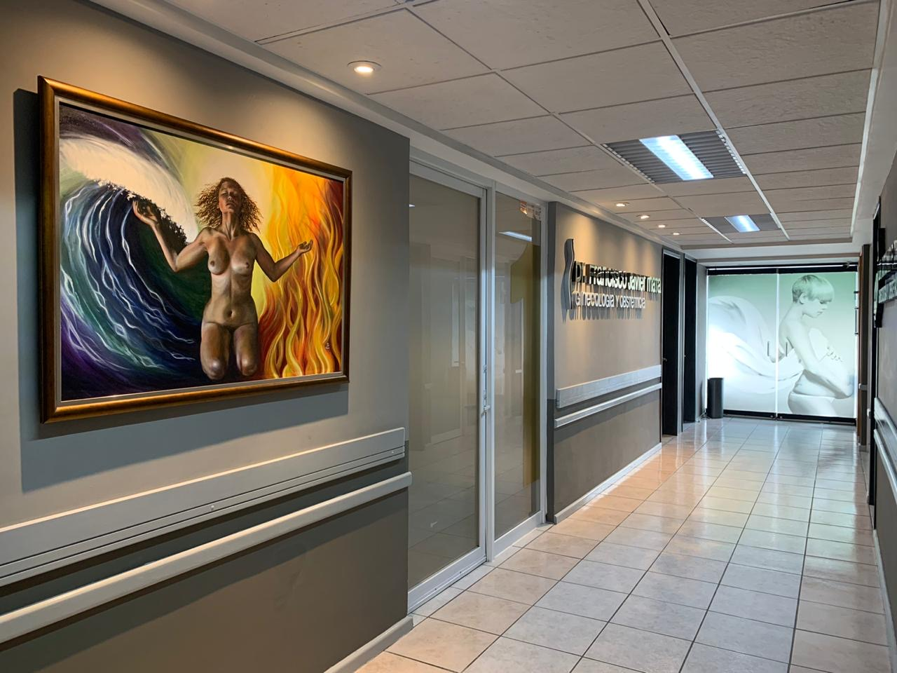 Commissioned piece for a doctor's office