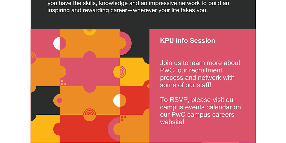 PwC Info Session & Networking Event
