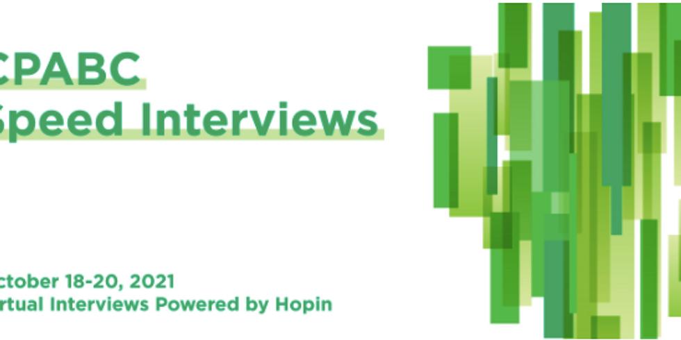 CPABC Speed Interviews