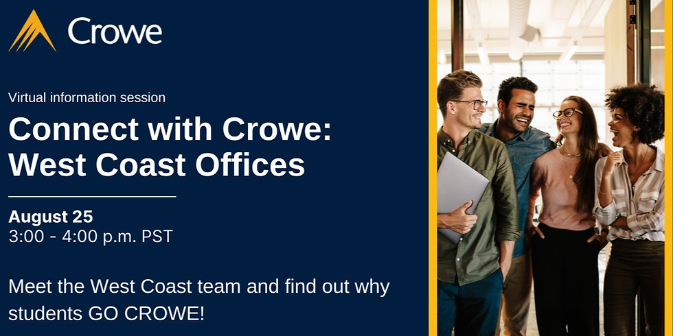 Connect with Crowe - West Coast Offices