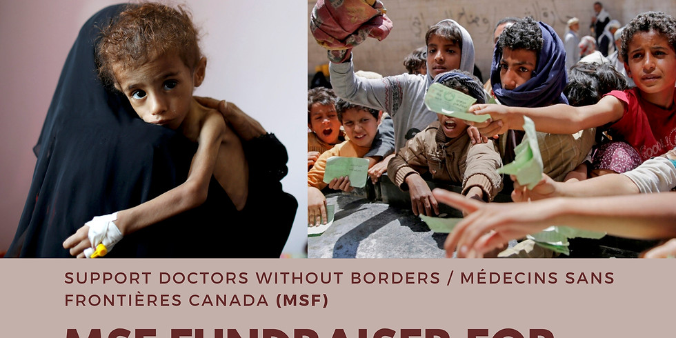 MSF Fundraiser for COVID-19 Relief and Yemen Crisis Relief