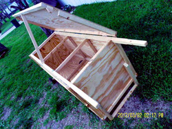 Moveable Rabbit Hutch - Multi Unit (14).