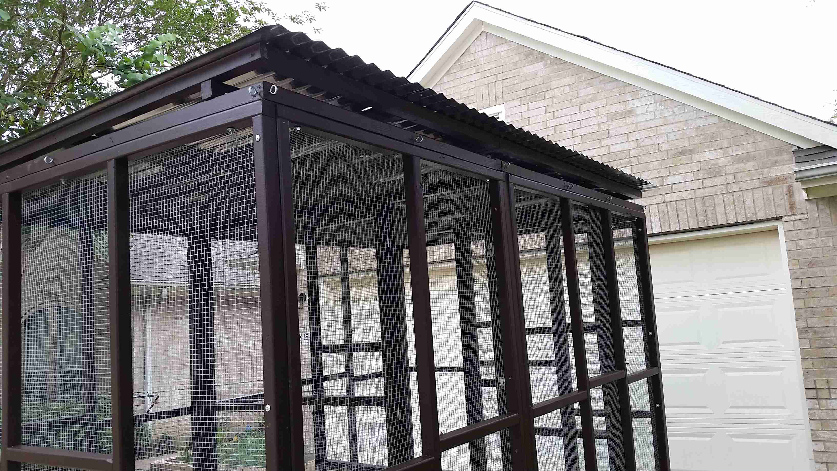 Parrot Aviary - Dual Cage (10)