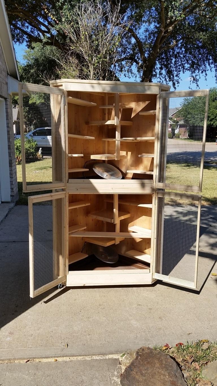 Cozy Corner Cage Duplex (12)