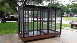 Parrot Aviary - Dual Cage (6)