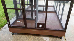 Parrot Aviary - Dual Cage (14)