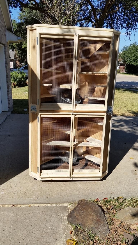 Cozy Corner Cage Duplex (18)