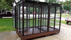 Parrot Aviary - Dual Cage (2)