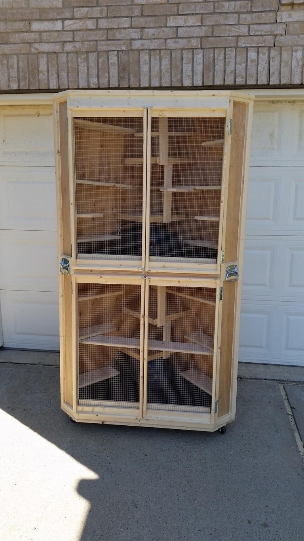 Cozy Corner Cage Duplex (5)