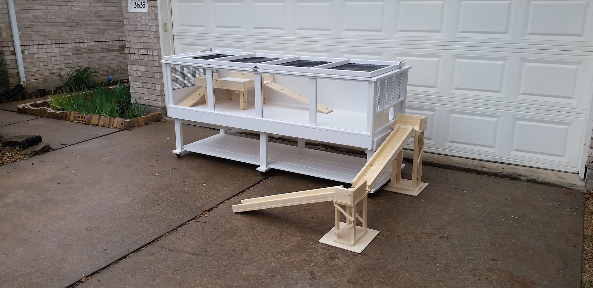 Guinea Pig Cage - Grange Model with Top