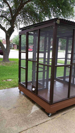Parrot Aviary - Dual Cage (7)