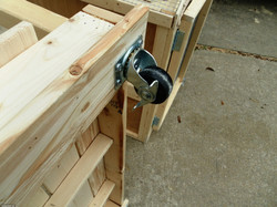 Caster Wheels for Easy Moving