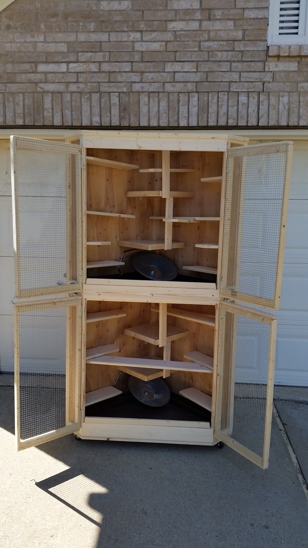 Cozy Corner Cage Duplex (8)