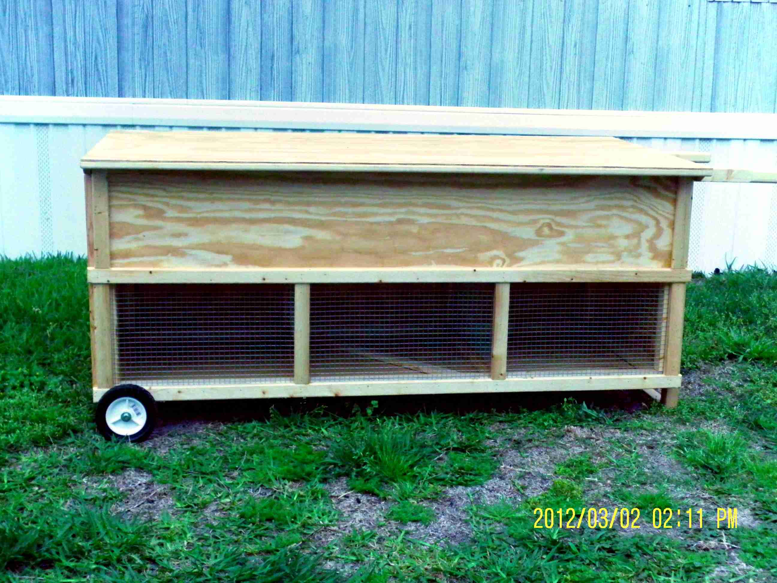 Moveable Rabbit Hutch - Multi Unit (5)
