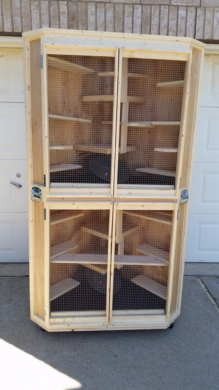 Cozy Corner Cage Duplex (7)