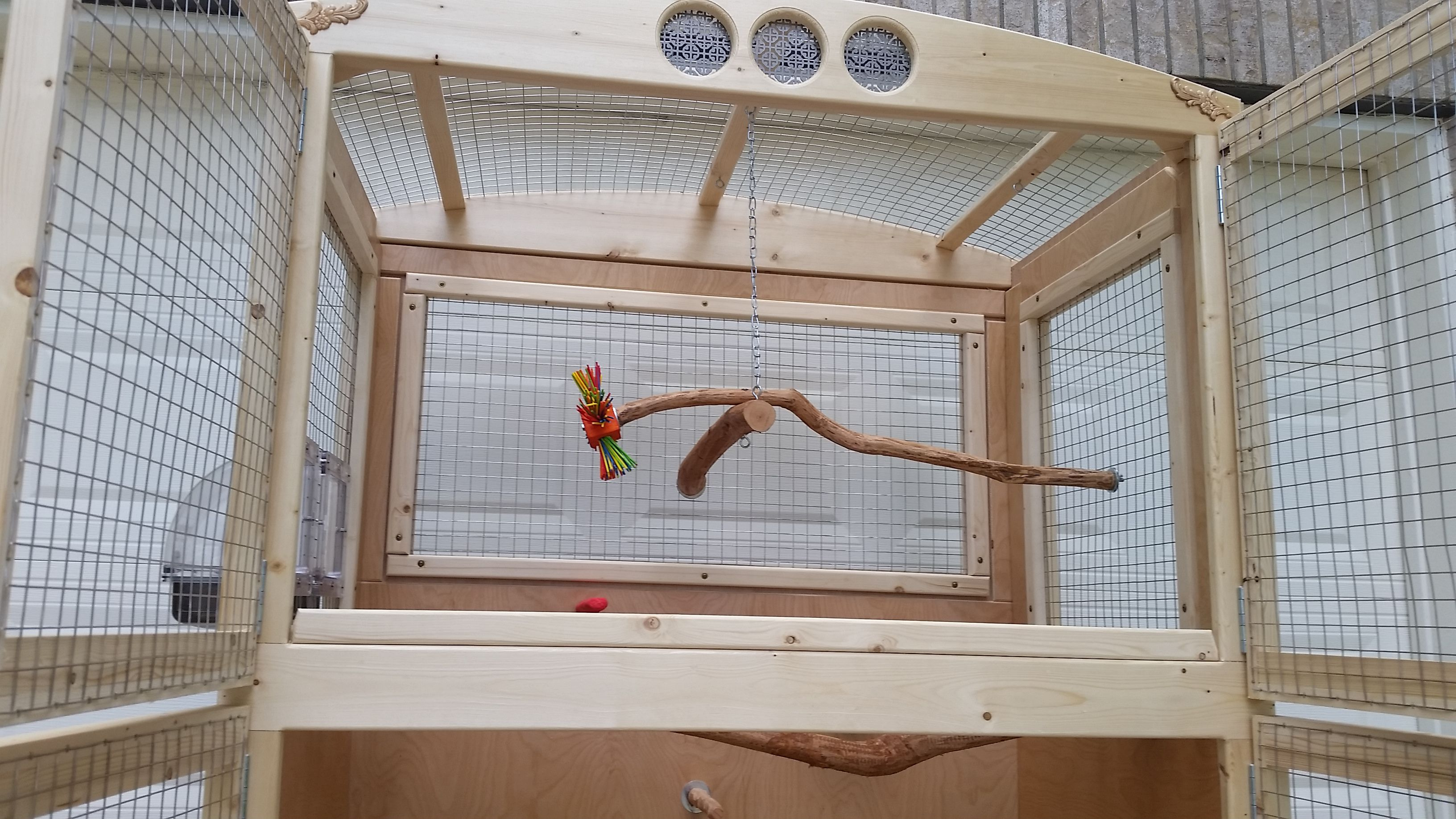 Custom Parrot Cage