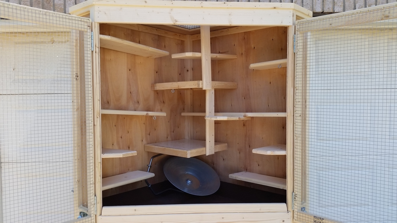Cozy Corner Cage Duplex (10)