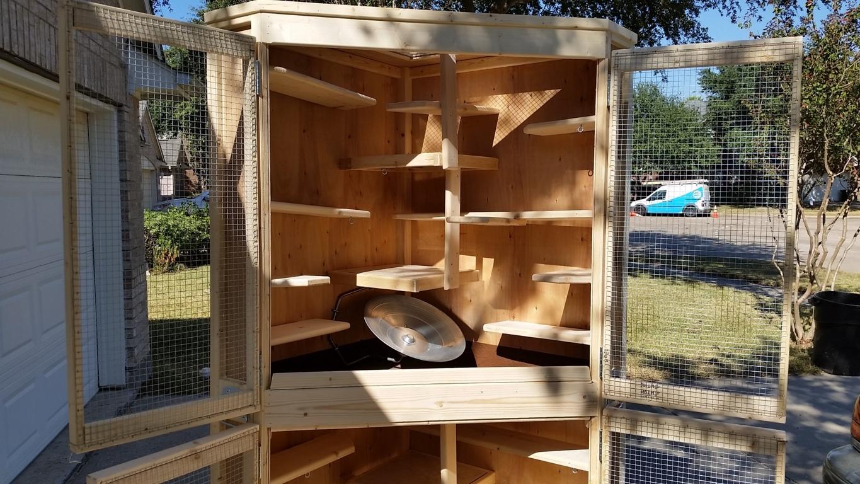 Cozy Corner Cage Duplex (14)