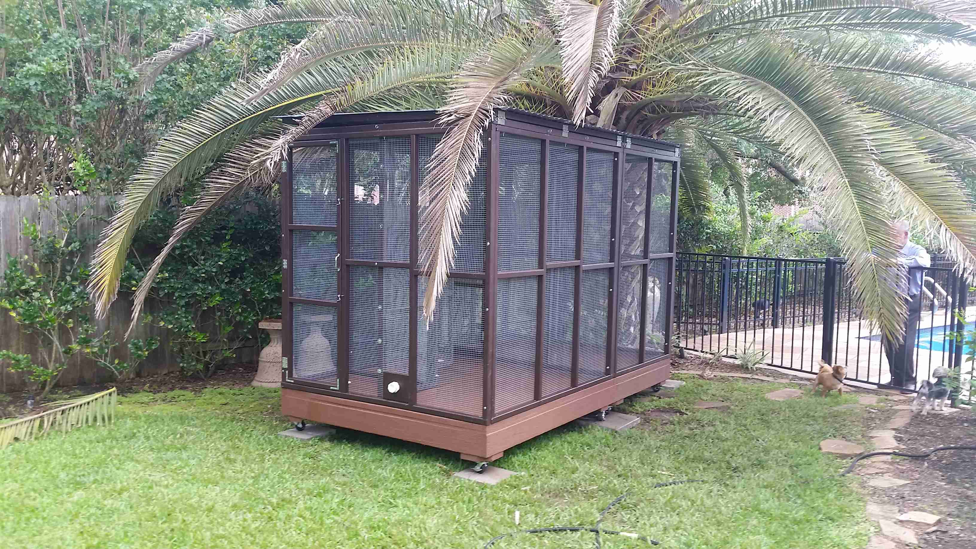 Parrot Aviary - Dual Cage (5)