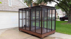 Parrot Aviary - Dual Cage (8)