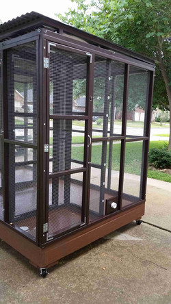 Parrot Aviary - Dual Cage (15)