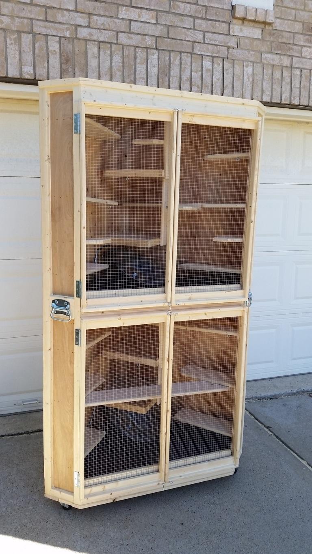 Cozy Corner Cage Duplex (6)