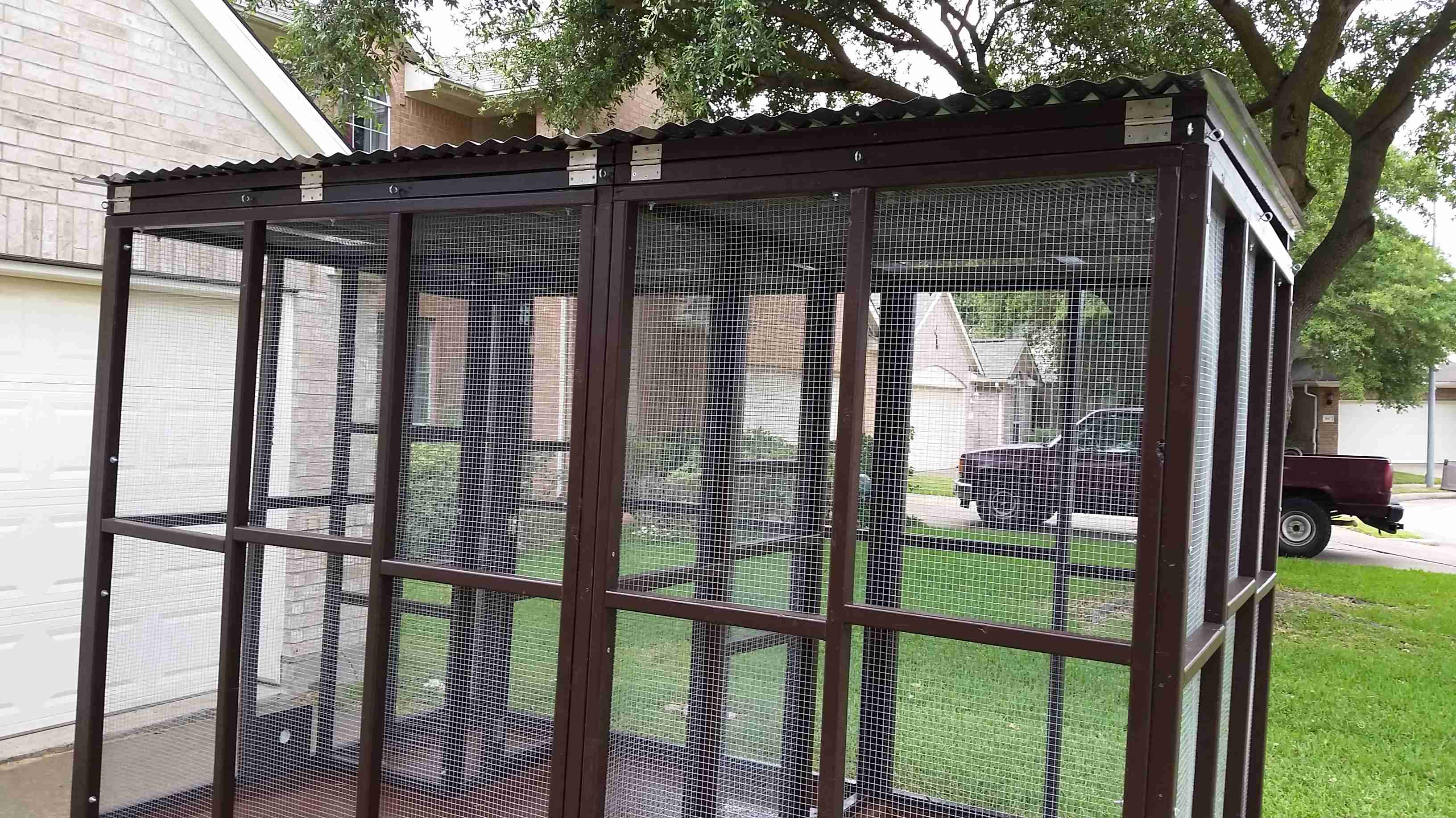 Parrot Aviary - Dual Cage (13)